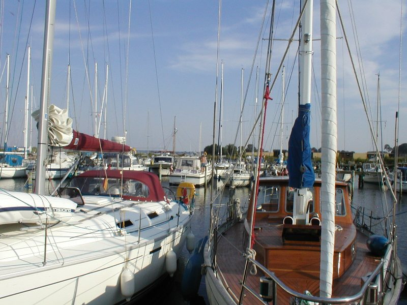Båd i havn